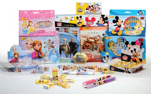 Bộ sản phẩm đồ dùng học tập Disney. Hệ thống bán hàng online tại đây