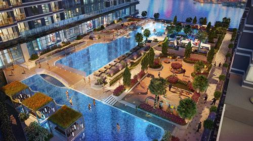 Hệ thống tiện ích nội khu được chủ đầu tư chăm chút. Hotline: (028) 3620 1195. Website: www.sunwahpearl.com