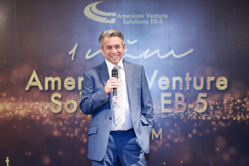 Jose Latour - Chủ tịch Trung tâm vùng American Venture Solutions EB-5.