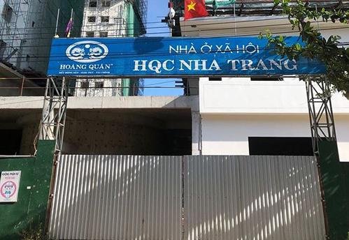 Dự án nhà ở xã hội Khu dân cư Bắc Vĩnh Hải. Ảnh: PLVN