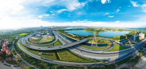 Hạ tầng giao thông tại quận Hoàng Mai được chú trọng đầu tư