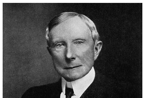 Ông vua dầu lửa Mỹ - John D. Rockefeller.