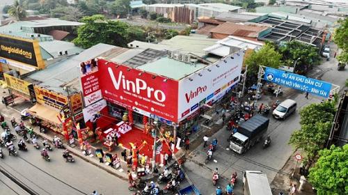 Một cửa hàng VinPro tại quận Bình Tân, TP HCM.