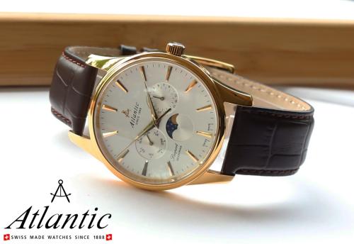 Lịch lãm và đẳng cấp với đồng hồ Thụy Sỹ Atlantic (xin bài edit) - 1