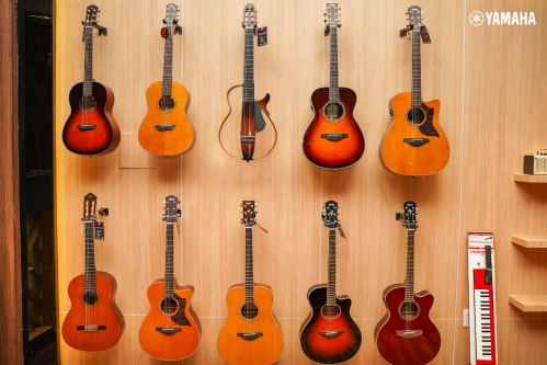 Các sản phẩm đàn guitar Yamaha chính hãng được bán tại cửa hàng.  Xem thêm thông tin tại: https://vn.yamaha.com/index.html