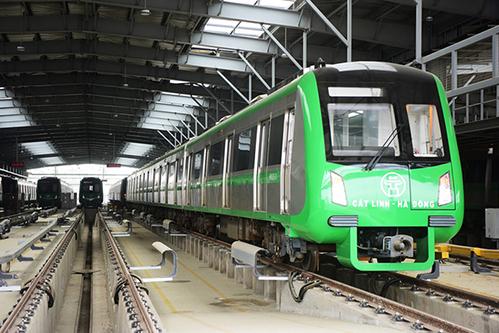 Dự án đường sắt Cát Linh - Hà Đông. Ảnh: Giang Huy