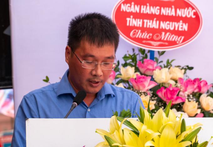 Ông Vũ Minh Xuân - Phó Giám đốc Ngân hàng Nhà nước tỉnh Thái Nguyên.