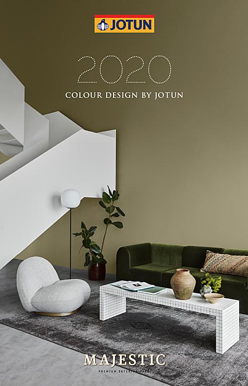 Bộ sưu tập 12 màumới của Jotun.