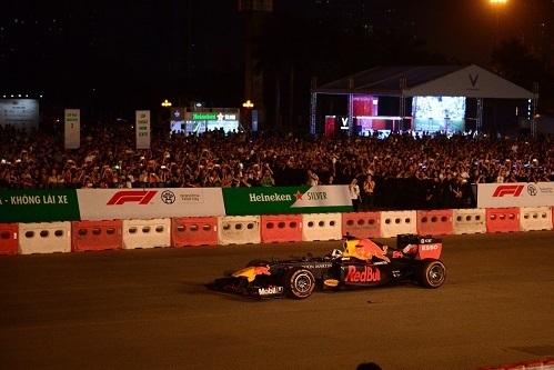 Mỹ Đình là nơi xây dựng đường đua F1 Việt Nam, diễn ra vào đầu năm 2020.