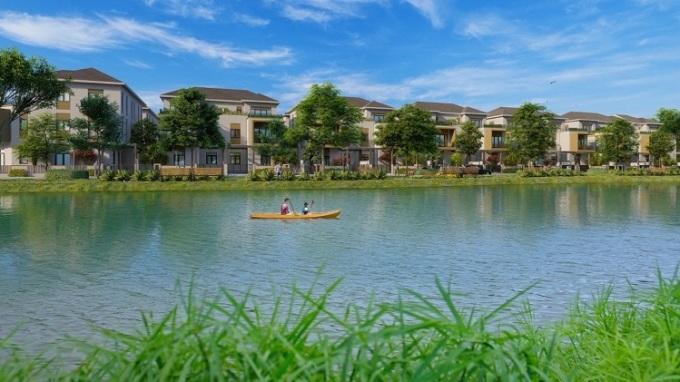 Lý do bất động sản ven sông , hồ được ưa chuộng