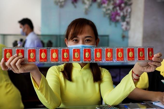 Giá vàng SJC tăng hơn nửa triệu đồng