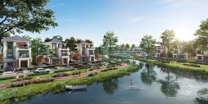 Với tổng diện tích hơn 600 ha, Aqua City được phát triển thành đô thị sinh thái thông minh như một ốc đảo yên bình, bao bọc bởi mạng lưới sông lớn, kênh rạch và cảnh quan thiên nhiên hiện hữu. Dự án đáp ứng ba tiêu chí trụ cột của mô hình tất cả trong một trên thế giới: an cư, tận hưởng cuộc sống và phát triển bền vững.Điểm nhấn của dự án nằm ở hơn 70% diện tích dành để bảo tồn và phát triển mảng xanh tự nhiên, hạ tầng giao thông và tiện ích đồng bộ.