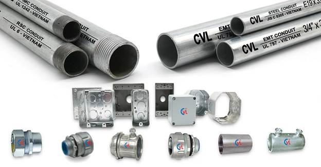 10 loại ống thép luồn dây điện sản xuất tại công ty Cát Vạn Lợi