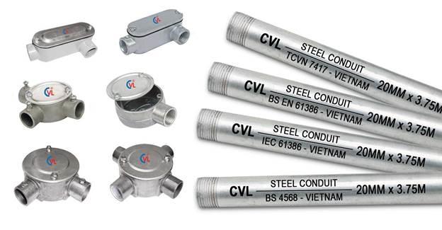 Cát Vạn Lợi sản xuất và gia công cung cấp trọn gói hệ thống vật tư cơ điện M&E.