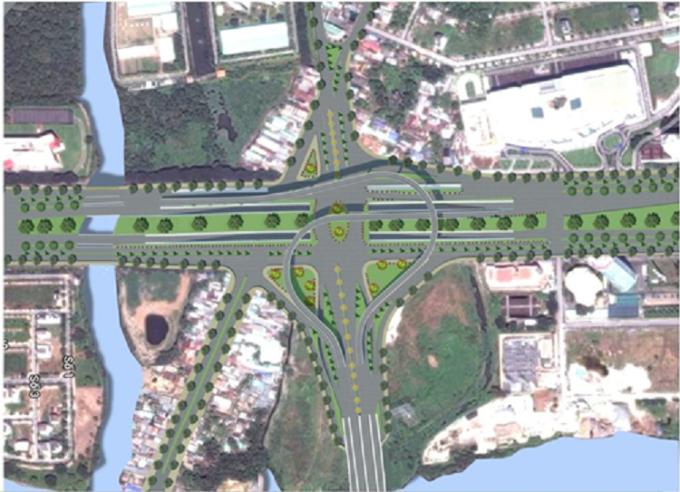 Mizuki Park hưởng lợi từ hạ tầng giao thông