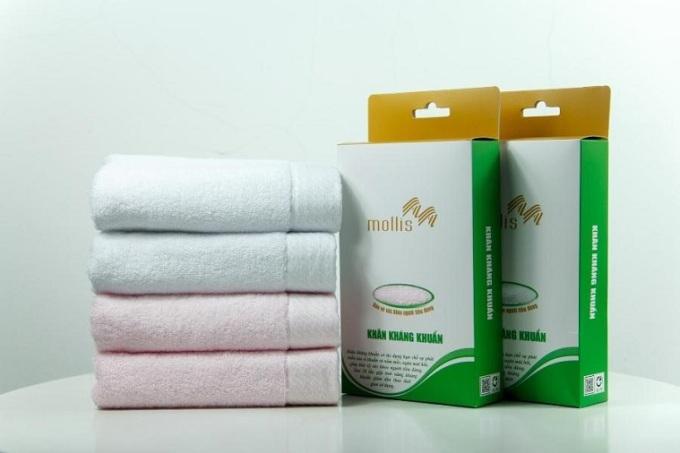Phong Phú Corp ra mắt khăn kháng khuẩn