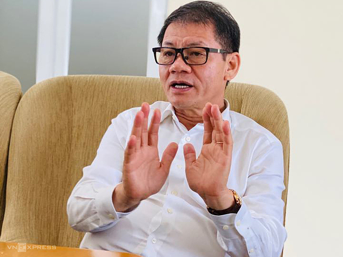 Chủ tịch Thaco Trần Bá Dương. Ảnh: Hoài Thu.