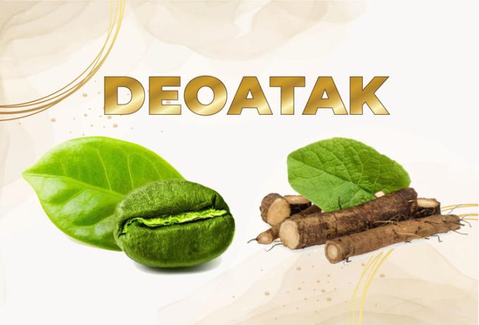 phức hợp Deoatak có công dụng khử mùi hôi và thanh lọc cơ thể