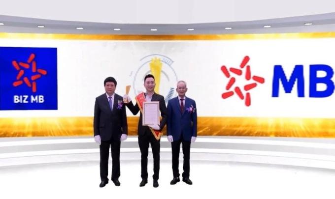 Nền tảng số của MB nhận giải thưởng Sao Khuê 2020