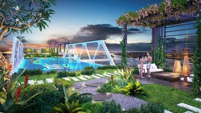 Chủ đầu tư sáng tạo mảng xanh để hút khách sau Covid-19
