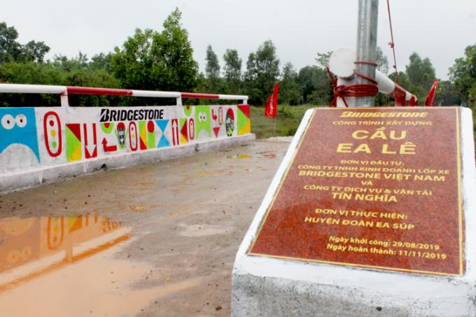 Bridgestone Việt Nam qua 10 năm đóng góp cho cộng đồng