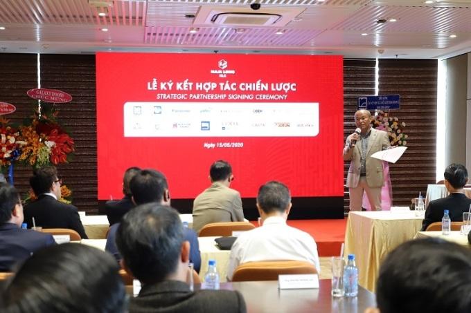 Nam Long hợp tác chiến lược với 12 nhà cung ứng vật liệu