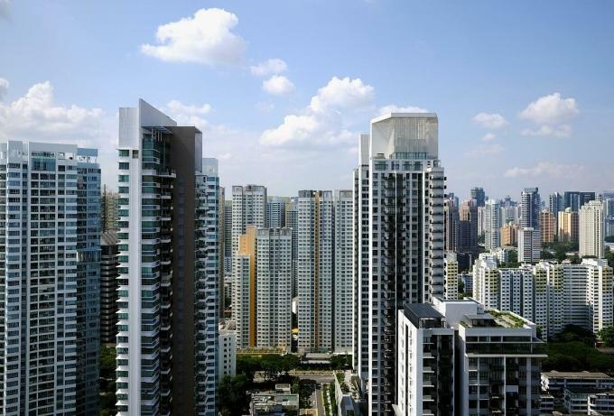 Các tòa nhà chung cư tại Singapore. Ảnh: Reuters
