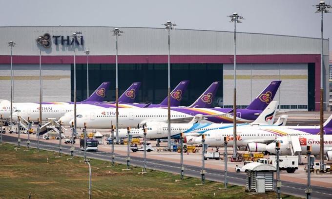 Thai Airways được chính phủ
