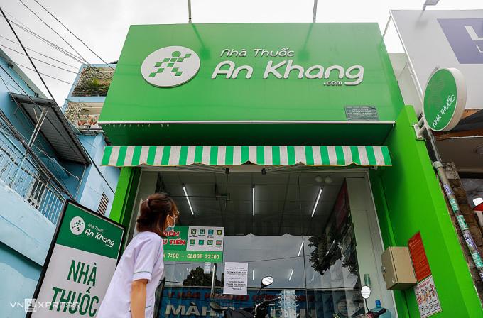 Một nhà thuốc của Thế Giới Di Động tại TP HCM. Ảnh: Quỳnh Trần.