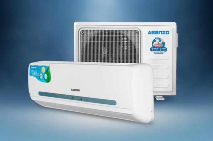 Tầm giá phải chăngcủa điều hòa Asanzo nhờ vào quá trình nâng cao năng lực sản xuất.