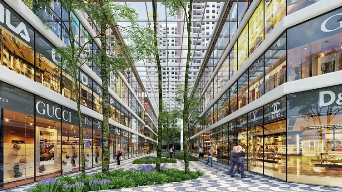 Shophouse Charm City tại Dĩ An giá từ 4 tỷ đồng