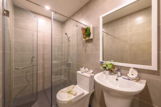 Phong cách nội thất hiện đại trong căn hộ mẫu Lovera Vista
