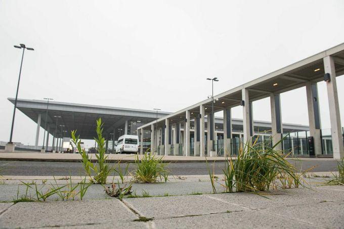 Nhà ga chính tại sân bay tháng 11/2019. Ảnh: Zuma Press