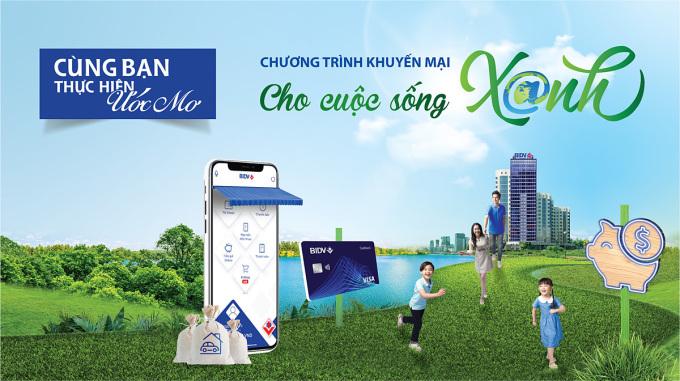 BIDV tặng quà cho khách đăng ký, giao dịch ngân hàng điện tử