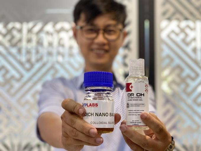 2 triệu chai nước rửa tay công nghệ Việt xuất đi Âu Mỹ