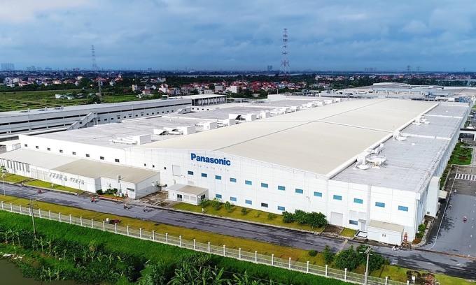 Nhà máy của Panasonic tại Bắc Thăng Long, Đông Anh, Hà Nội. Ảnh: XuanMaiCorp.