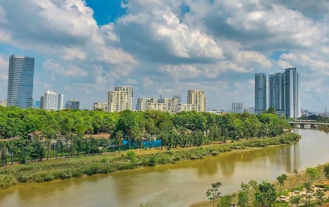 Địa ốc Nam Sài Gòn giữ sức hút nhờ hạ tầng