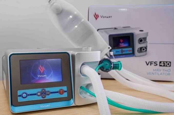 VinSmartcó thể sản xuất tới 45.000 máy thở không xâm nhập và 10.000 máy thở xâm nhập mỗi tháng.