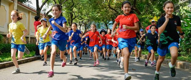 Trường Quốc tế Úc đẩy mạnh hoạt động thể chất