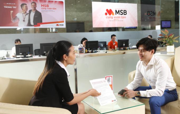 MSB ưu đãi phí chuyển tiền quốc tế siêu tốc