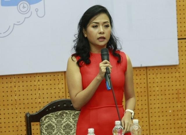 Bà Trần Uyên Phương, Phó tổng giám đốc Tân Hiệp Phát.