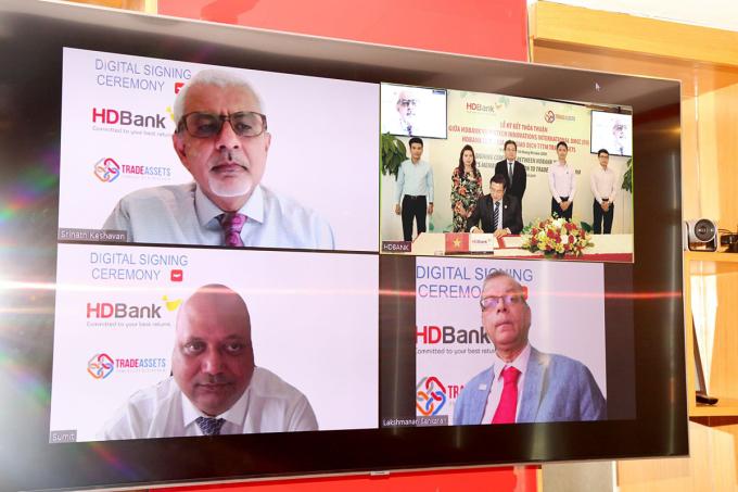 HDBank tham gia TradeAssets nhằm số hóa tài trợ thương mại