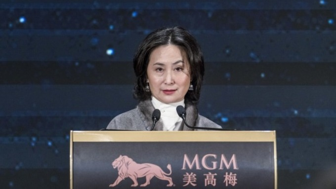 Pansy Ho - con gái người vợ thứ hai của Stanley Ho. Ảnh: Bloomberg