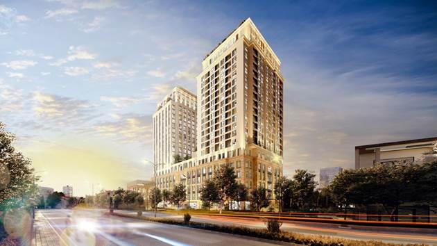 Mô hình căn hộ - khách sạn cao cấptại tổ hợp BRG Legend
