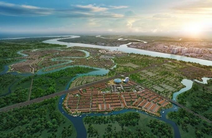 Phối cảnh khu đô thị sinh thái Aqua City (Đồng Nai).