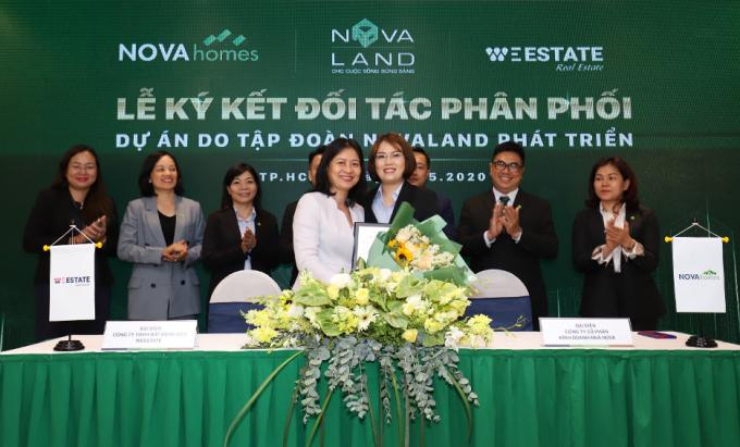 Các kênh phân phối mới giúp nhiều sản phẩm bất động sản do Novaland phát triển tiếp cận với khách hàng.