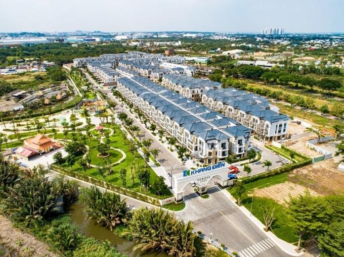 Dự án nhà liên kế, biệt thự Vesora Park Khang Điền đang bàn giao đợt 1 cho cư dân.