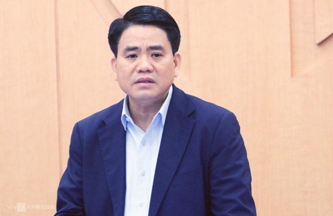 Ông Nguyễn Đức Chung - Chủ tịch TP Hà Nội. Ảnh: Võ Hải