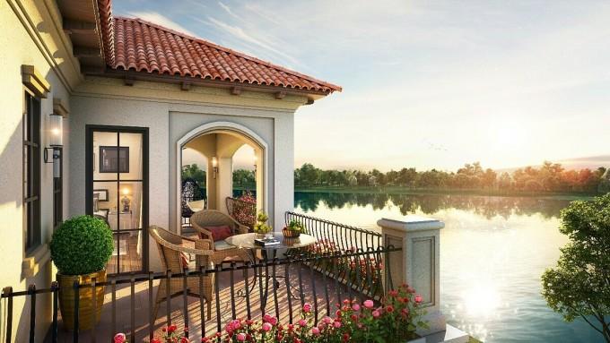 Không gian sống sinh thái với những đặc quyền riêng tư đẳng cấp tại biệt thự Grand River View Villa của Aqua City.