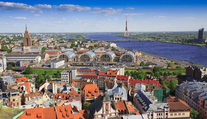Chợ trung tâm Riga - Latvia.